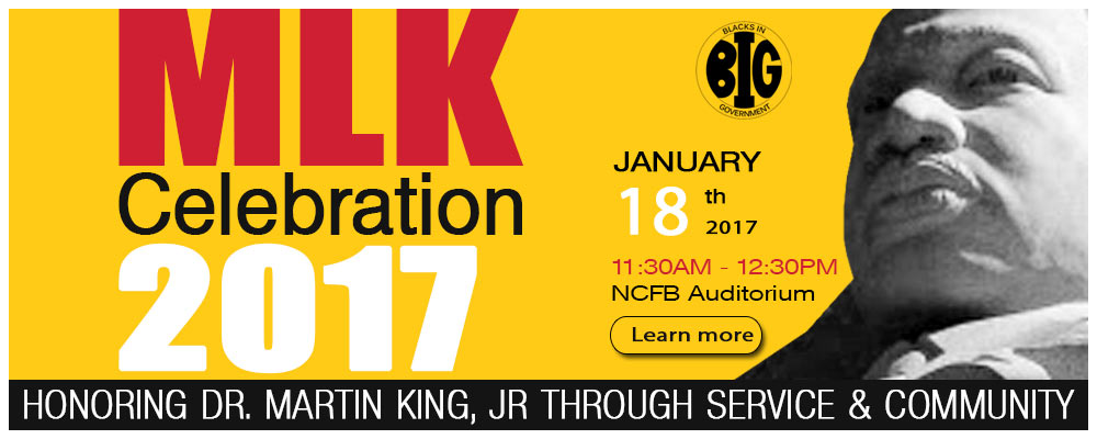 MLK Celebration 2017 at New Carrollton Federal Building Auditorium