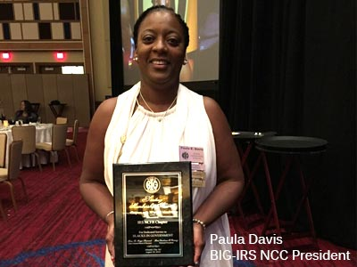 Blacks In Government (BIG)-IRS New Carrollton president Paula Davis